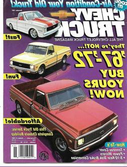 CHEVY TRUCK 1997 NOV - '67-'72'S, TONNEAU COVER, S-10 REAR D