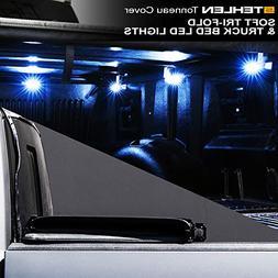 Stehlen 733469490494 Soft Tri-Fold Tonneau Cover with Truck