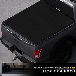 Stehlen 733469493297 Lock And Roll Up Tonneau Cover - Black