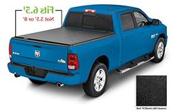 Lund 96864 Genesis; Elite Roll Up Tonneau; Black;
