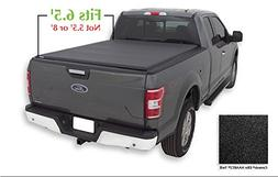 Lund 96873 Genesis; Elite Roll Up Tonneau; Black; F-150  F-1