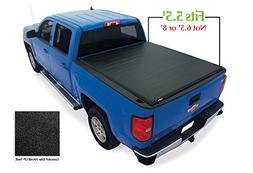 Lund 96892 Genesis; Elite Roll Up Tonneau; Black;