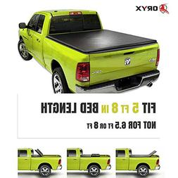 ORYX AUTO Assembly Soft Tri Fold Tonneau Cover | Truck Bed C