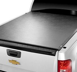 Autobotusa Black Lock & Roll Up Soft Truck Bed Tonneau Cover