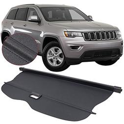 Cargo Cover Fits 2011-2017 Jeep Grand Cherokee | Black PU To