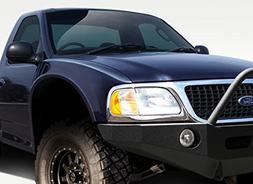 Duraflex ED-QXO-034 Off Road 4.5 Inch Bulge Front Fenders -