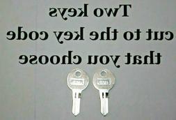 H700D-H756D 2-Keys For Ford, Snug-top tonneau cover, RV. cut