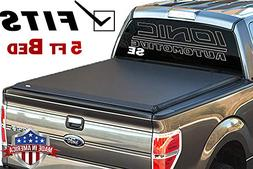 Ionic Premium SE Roll Up Tonneau Truck Bed Cover 2016-2018 T