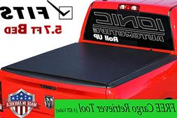 Ionic Roll Up Tonneau Truck Bed Cover  2019 and Up Dodge Ram