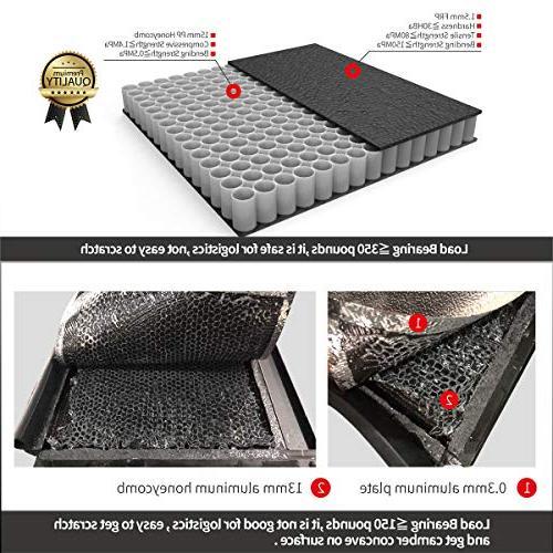 """Sierra 5'8"""" Bed FRP Hard Solid Tonneau"""