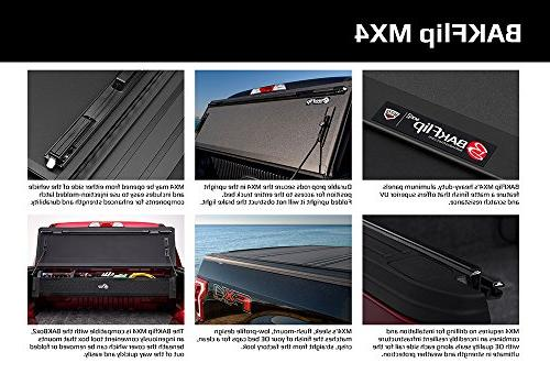 BAK 48426 BAKFlip MX4 Folding Bed Cover Tacoma