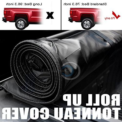 Autobotusa Roll Up Truck Bed for 2002-2008 Dodge Regular/Crew Cab | Dodge Ram 2500 3500 Pickup 6.5 ft Short Cover