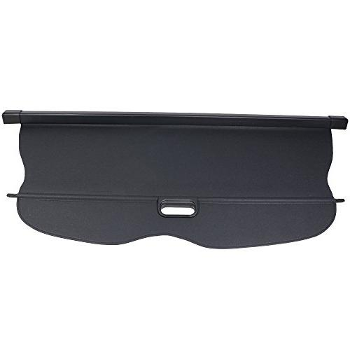 Cargo Jeep Black PU Cover Retractable By IKON | 2015