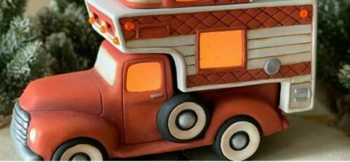 Clay Truck Insert U Unpainted Bisque