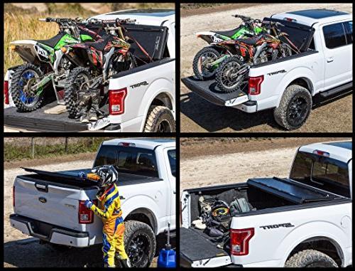 "Gator FX3 Folding Tonneau Bed Cover 2014-2018 Silverado Sierra 5'8"""