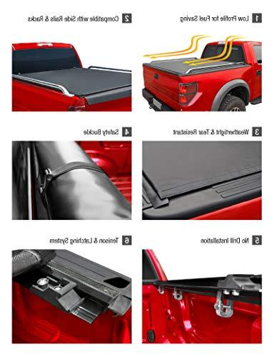 MaxMate Low Up Cover Works with Ford Super Duty | Styleside 8' Bed