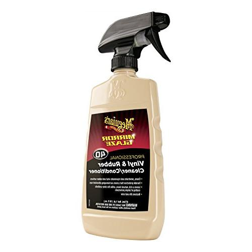 Meguiars M40 Cleaners Mirror Glaze Vinyl Rubber Cleaner Cond