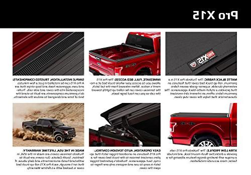 TruXedo Pro Roll-up Truck Bed Tonneau Cover | 1486901 fits 2019 Ram New Style Bed