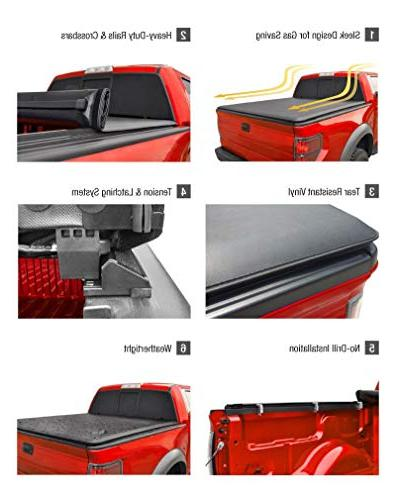 MaxMate Truck Bed Cover with Sierra 2500 3500 Bed