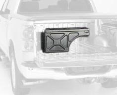 UnderCover SwingCase Truck Storage Box | SC400P | fits 2007-