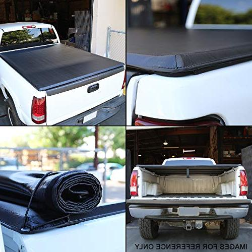 "Roll-Up Vinyl Cover For 05-18 Nissan Frontier 6'1"" Short Fleetside"