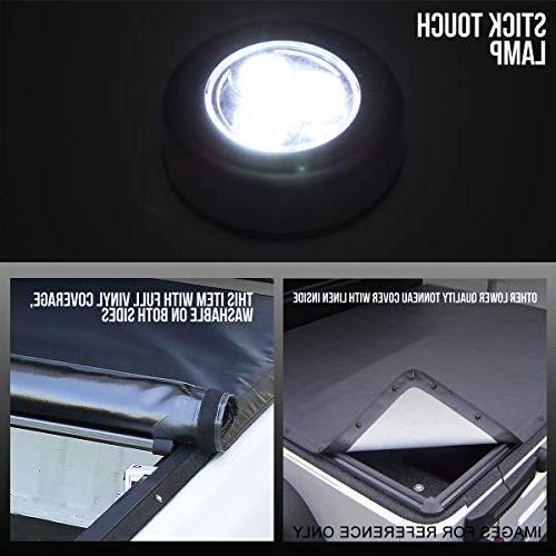 Roll-Up Vinyl Soft Tonneau Cover 05-18 Nissan Frontier Short Fleetside Truck