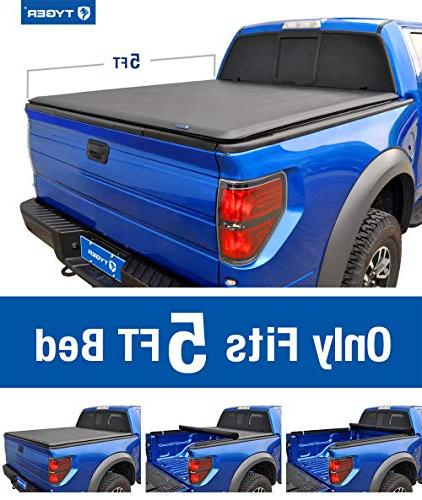 Tyger Up Bed Cover TG-BC1N9034 2005-2019 Frontier; Suzuki | Fleetside 5' Bed | models with the Utili-track System