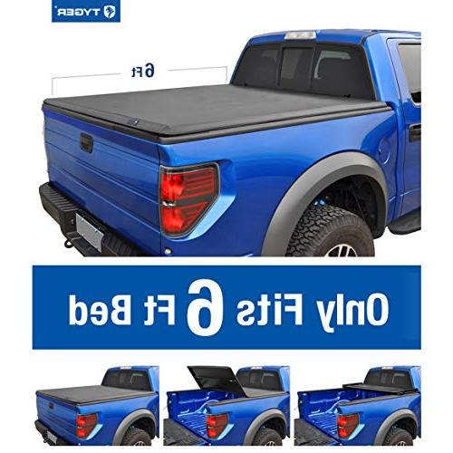 Tyger Tri-Fold Truck TG-BC3C1040 Chevy Colorado/GMC Fleetside 6' Bed