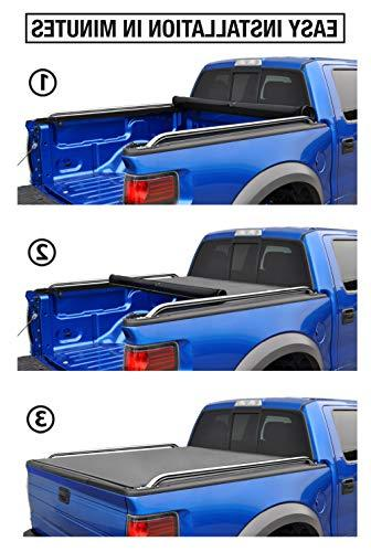 Tyger TG-BC2D2064 Low Roll-Up Bed Tonneau 2009-2016 Dodge