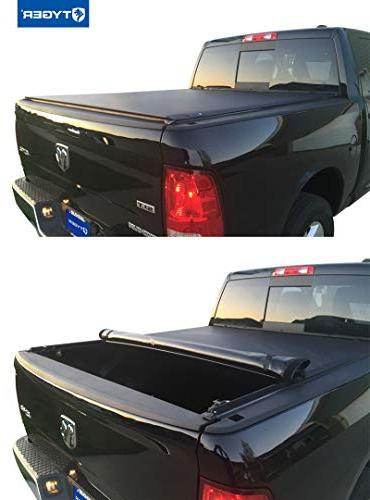 Tyger Auto Low Bed Tonneau Cover 2009-2016 5