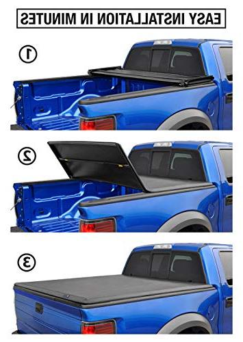 Tyger Auto Truck Bed Tonneau TG-BC3C1040 Chevy Colorado/GMC | Fleetside 6' Bed