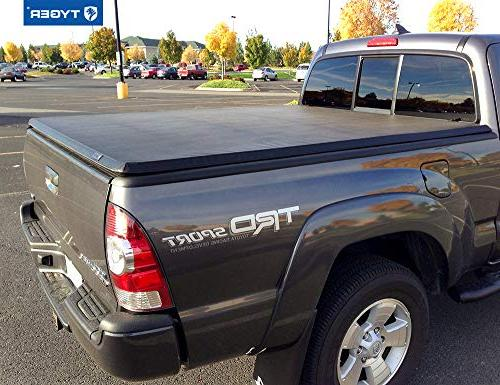 Tyger Auto Tri-Fold 05-14 Toyota Tacoma (withwithout utility