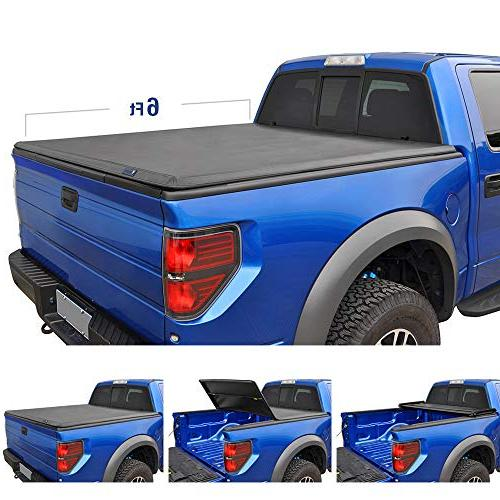 t3 tri fold truck bed tonneau cover