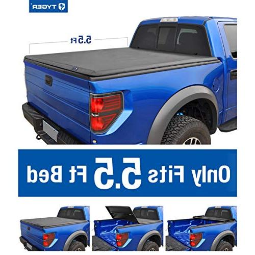 Tyger Auto Tri-Fold Pickup Tonneau Cover 14-16 Tundra (withwithout utility