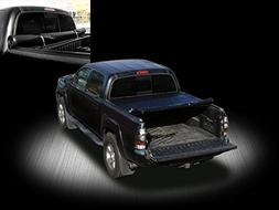Autobotusa Black Lock & Roll Up Soft Vinyl Truck Bed Tonneau