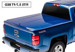 UnderCover LUX Painted One-Piece Truck Bed Tonneau Cover, Bl
