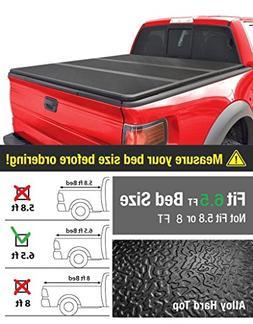 EZ Auto Premium Hard Top Tri-Fold Truck Bed Tonneau Cover Fo