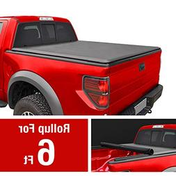 MaxMate Roll Up Truck Bed Tonneau Cover Works with 2004-2012