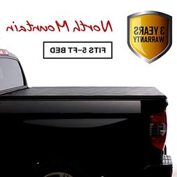 North Mountain Soft Vinyl Roll-up Tonneau Cover, Fit 15-18 C