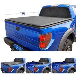 Tyger Auto T1 Roll Up Truck Bed Tonneau Cover TG-BC1N9035 wo