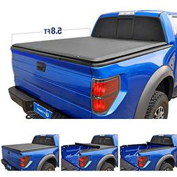 Tyger Auto T1 Roll Up Truck Bed Tonneau Cover TG-BC1C9008 wo