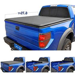 Tyger Auto T1 Roll Up Truck Bed Tonneau Cover TG-BC1F9027 wo