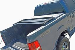 Tonneau Cover Soft Tri Fold for Ram Crew Cab Pickup Truck 5.