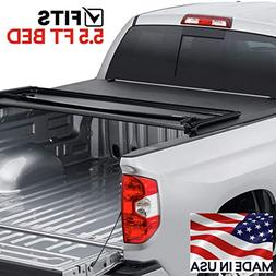 Toyota Tundra Tonneau Cover 2014-2018 5.5 ft. bed w/rail sys